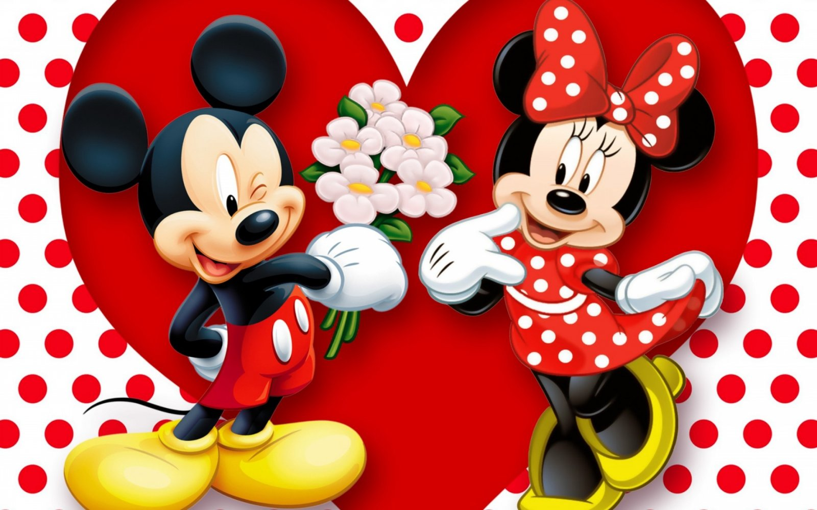 Mickey e Minnie Crush Instituto Loureiro